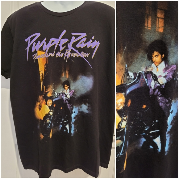 Prince and the Revolution Purple Rain T-Shirt